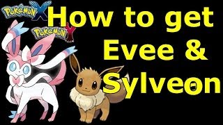Pokemon X & Y How To Catch Eevee And Get Sylveon New Fairy