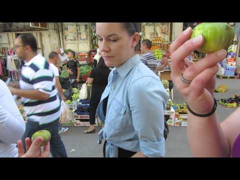 Fruits and vegetables in the Arab market in East Jerusalem (Damascus Gate, Jerusalem)