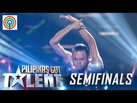Pilipinas Got Talent Season 5 Live Semifinals: Mark Dune Basmayor - Solo Contortionist
