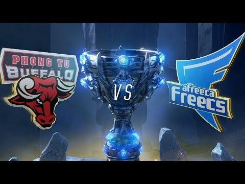 PVB vs AFS | Worlds Group Stage Day 6 | Phong Vũ Buffalo vs Afreeca Freecs (2018)