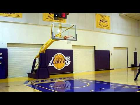Lakers Practice Facility Fun 2014