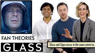 Glass Fan Theories With James McAvoy, M. Night Shyamalan & Sarah Paulson | Vanity Fair