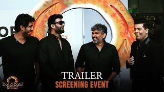 Baahubali 2 - The Conclusion Trailer Screening Event