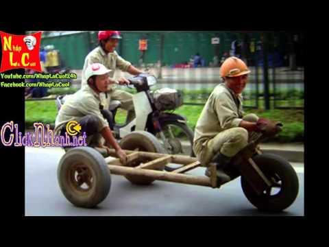 Hình ảnh hài hước Những chiếc xe chế trên Facebook