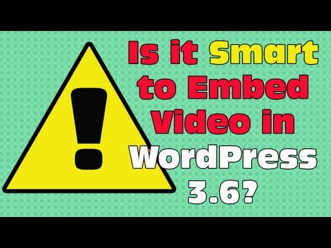 Should You Embed Video Into WordPress?