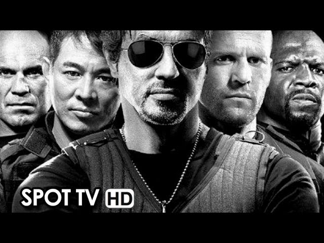 The Expendables 3 Official TV Spot #1 (2014) HD