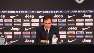 Juve, Allegri: 'Sneijder serve, anche se non in Champions. Roma? Peccato, Lazio poteva avvicinarla'
