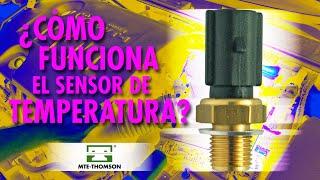 ¿Cómo funciona el sensor de temperatura?