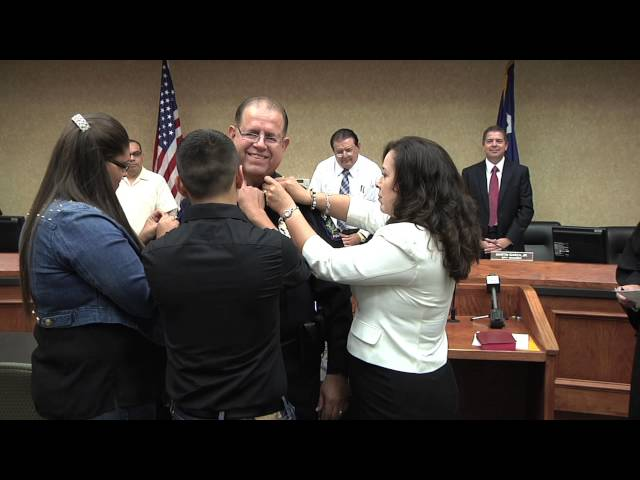 Mission, TX - Police Department - Police Chief Sworn In