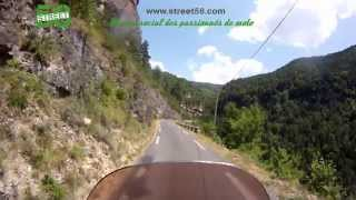 Roadbook moto Aveyron : Le Canyon de la Dourbie