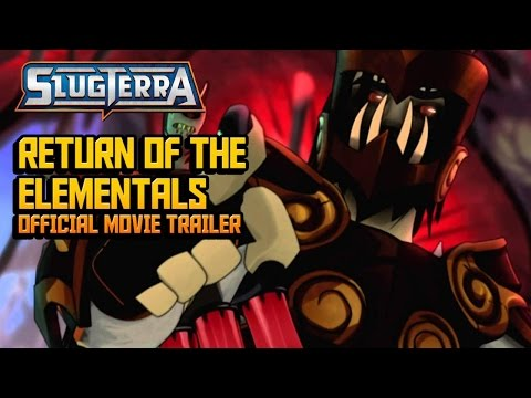 Slugterra: Return of the Elementals Official Movie Trailer