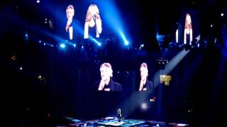 """HD"" - Celine Dion: The Prayer with Andrea Bocelli (Madison Square Garden Taking Chances Tour)"