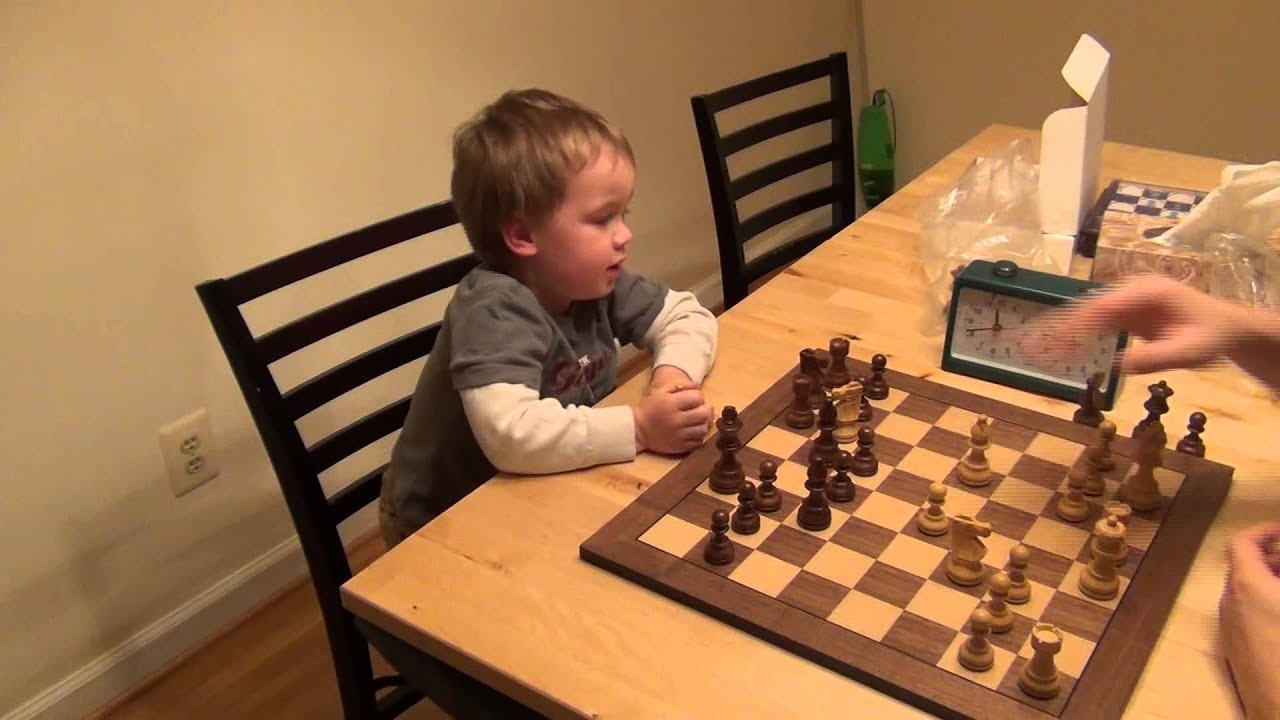 how to teach chess to 5 year old