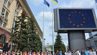 Ректорат ХНУВС, курсанти та студенти університету взяли участь у заходах з нагоди Дня Європи