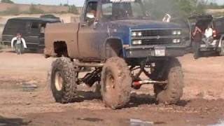 80's 4x4 Lifted Chevy Pickup Truck