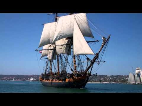 H.M.S Surprise Sail