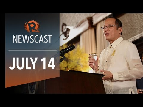 Rappler Newscast: Aquino on DAP, JPE, Pope Francis