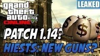LEAKED: GTA 5 Heist Online Release Date GTA 5 Bank