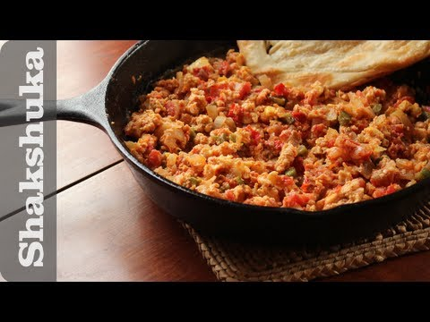 Shakshuka recipe (shakshouka) Yemeni eggs and tomato dish