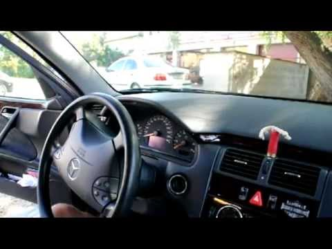 Mercedes W210 speedometer / Instrument cluster removal instructions - E class