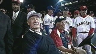 1999 ASG: Ted Williams Honored At All-Star Game