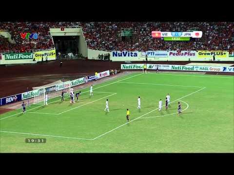 U19 Đông Nam Á: U19 Việt Nam - U19 Nhật Bản 13/9/2014