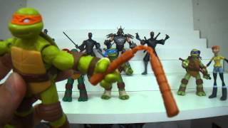 Review Coleção Das Tartarugas Ninja Nickelodeon Série 1