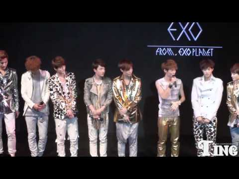 120401 Fancam EXO China showcase Sehun Luhan Moment