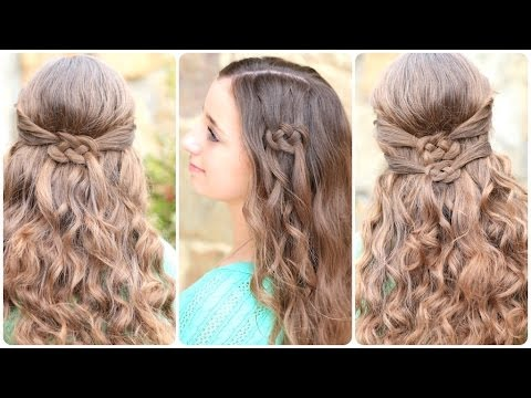 3 Ways to Wear a Celtic Knot | St. Patrick's Day Hairstyles - Szent Patrik napi frizurák