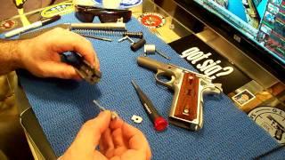 Firing Pin Stop Plate Install