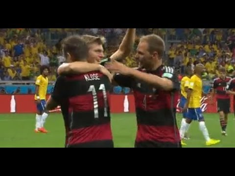 #Brasil2014 : Brasil Vs Alemania - Resumen del partido - Semifinal - 8 de Julio - Comentarios