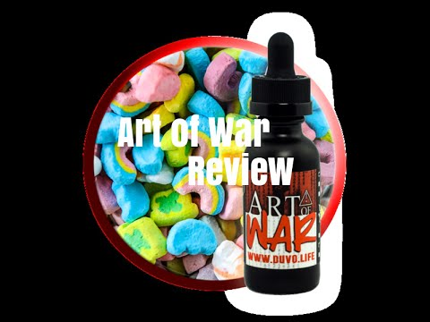 Duvo Life - Art of War E-Juice Review