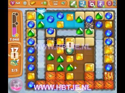 Diamond Digger Saga level 154
