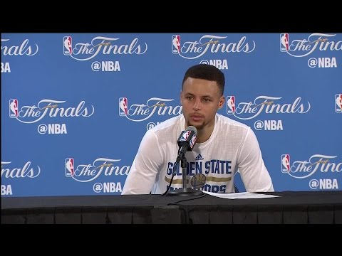 Raw Video: Steph Curry Reacts After Game 7 Loss To Cavs