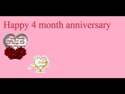 four month dating anniversary Accrual start rules participants' accruals do not begin until the first full pay period after the six-month anniversary of their hire date for example.