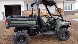 John Deere 855D Diesel Gator With Power Steering 2013