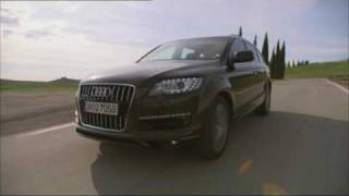 Officially Driving new Audi Q7 2010 facelift videos
