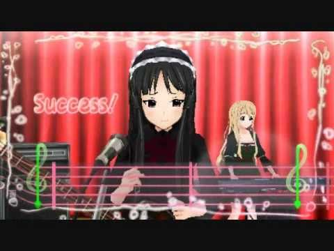 Fuwa Fuwa Time - Mio (K-On! Houkago Live!!) Hell Mode, Video score: 203700 Highest score: 207650