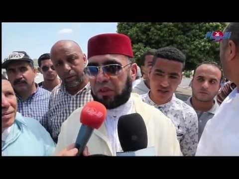 أفراد عائلة الطيار المغربي ل