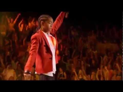 Justin Bieber Ft. Jaden Smith - Never Say Never (Madison Square Garden)