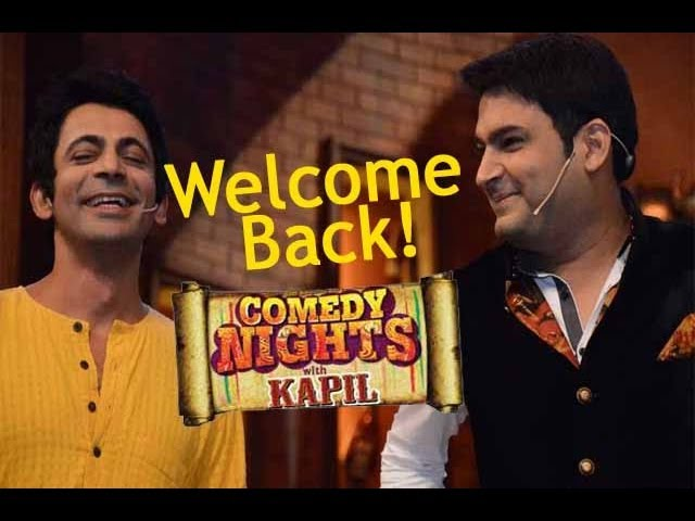 Kapil Sharma CALLS BACK Sunil Grover aka GUTHHI On Comedy Nights With Kapil!