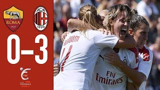 Highlights | Roma 0-3 AC Milan | Matchday 1 #SerieAFemminile