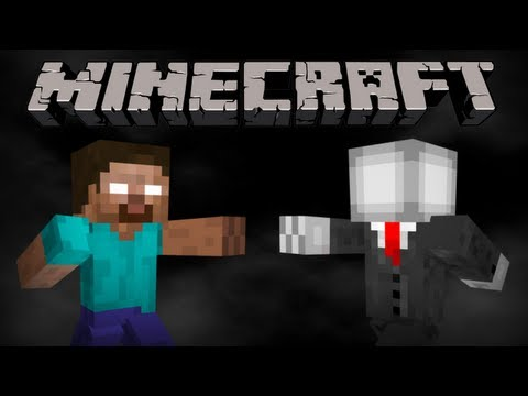 how to find slenderman in minecraft pe