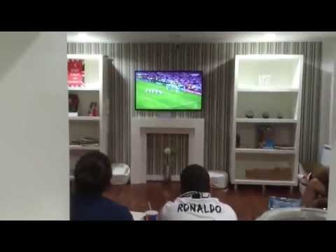 (MUST SEE) 2014 Champions League Sergio Ramos Goal Fans/Madridista Reaction. Real Madrid
