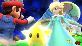 Super Smash Bros 4 Characters: Rosalina & Luma Trailer