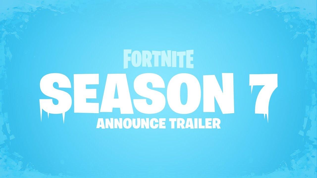 Fortnite Season 7 Trailer Youtube