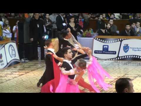Marco Cavallaro & Joanne Clifton - IDSF Standard European Cup 2011 - Slow Waltz