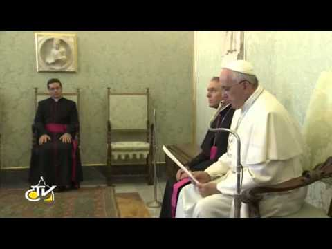 Pope Francis: the liturgy, way to implement the Council