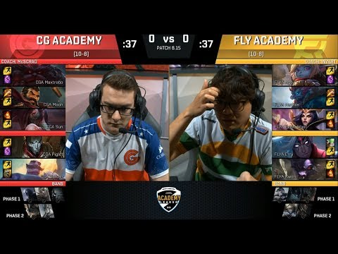 CGA (Sun Akali) VS FLYA (Meteos Trundle) Game 1 Highlights - 2018 NA Academy Quarterfinals