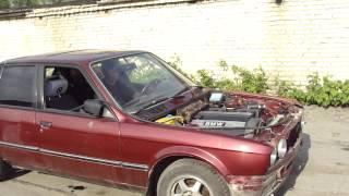 Первый пуск двигателя M50B20 после ремонта на E30